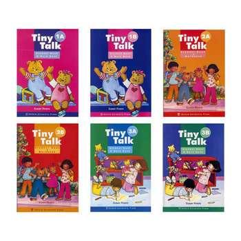 کتاب Tiny Talks اثر Susan Rivers انتشارات زبان مهر 6 جلدی