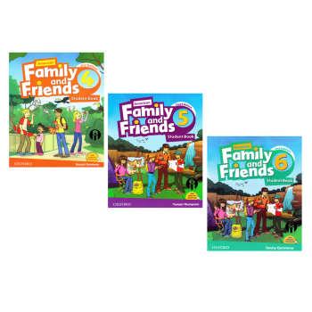 کتاب Family and Friends Second Edition اثر Naomi Simmons انتشارات الوندپویان جلد 4 تا 6