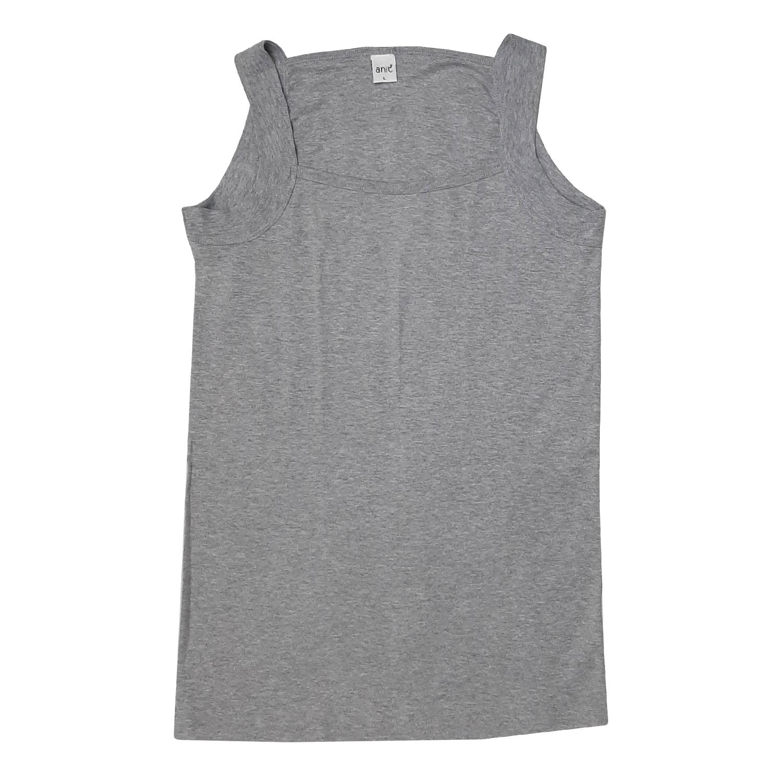 زیرپوش خشتی مردانه آنیت مدل 9910 رنگ طوسی