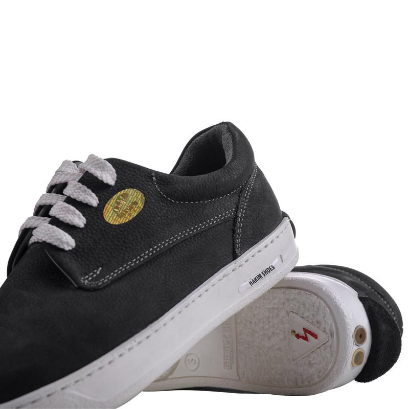 کفش روزمره هوشمند مردانه حکیم مدل T5 رنگ مشکی