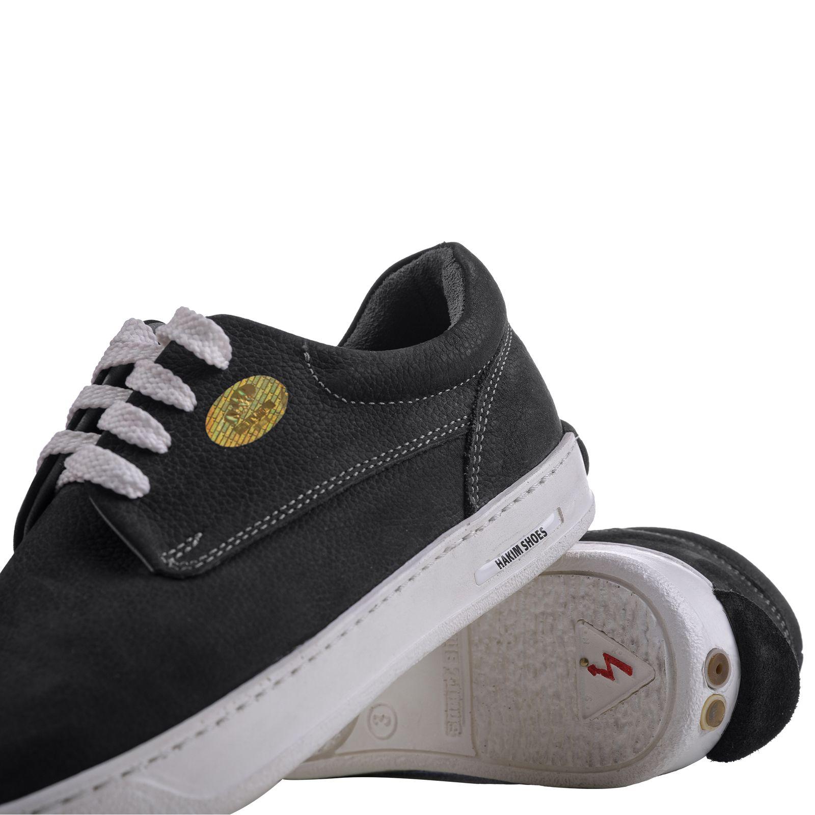 کفش روزمره هوشمند مردانه حکیم مدل T5 رنگ مشکی -  - 2