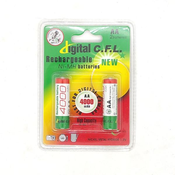 باتری قلمی شارژی دیجیتال سی اف ال کد 4000