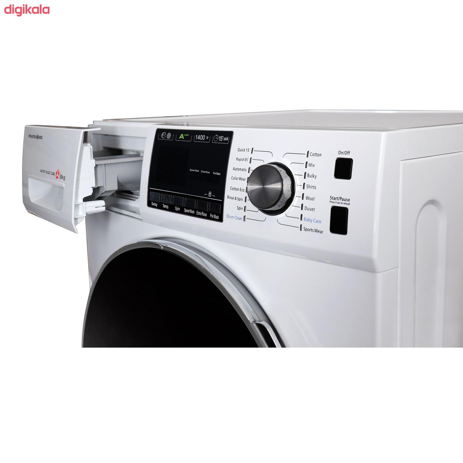 ماشین لباسشویی پاکشوما مدل TFU-84401 ظرفیت 8 کیلوگرم main 1 7