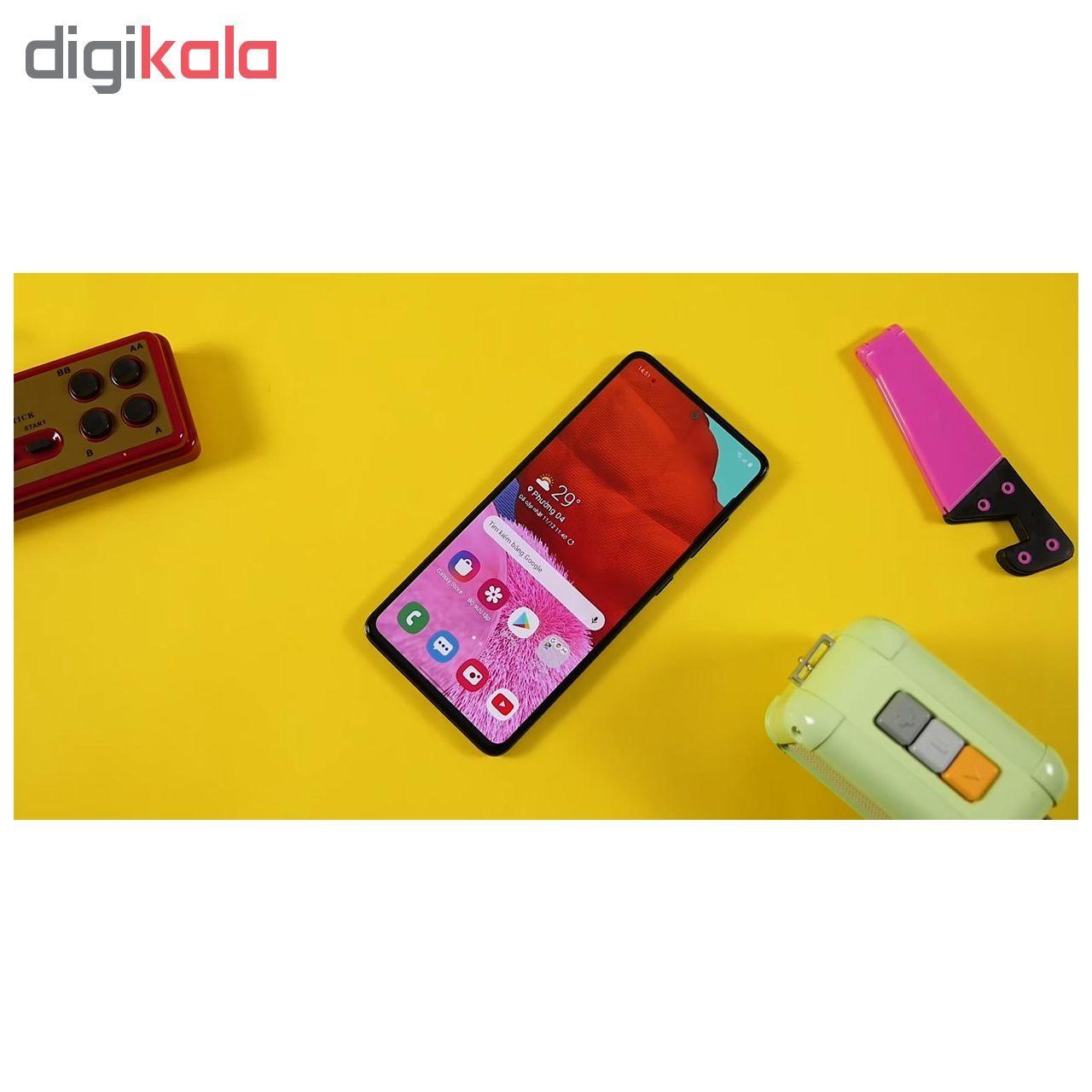 گوشی موبایل سامسونگ مدل Galaxy A51 SM-A515F/DSN دو سیم کارت ظرفیت 128گیگابایت main 1 12