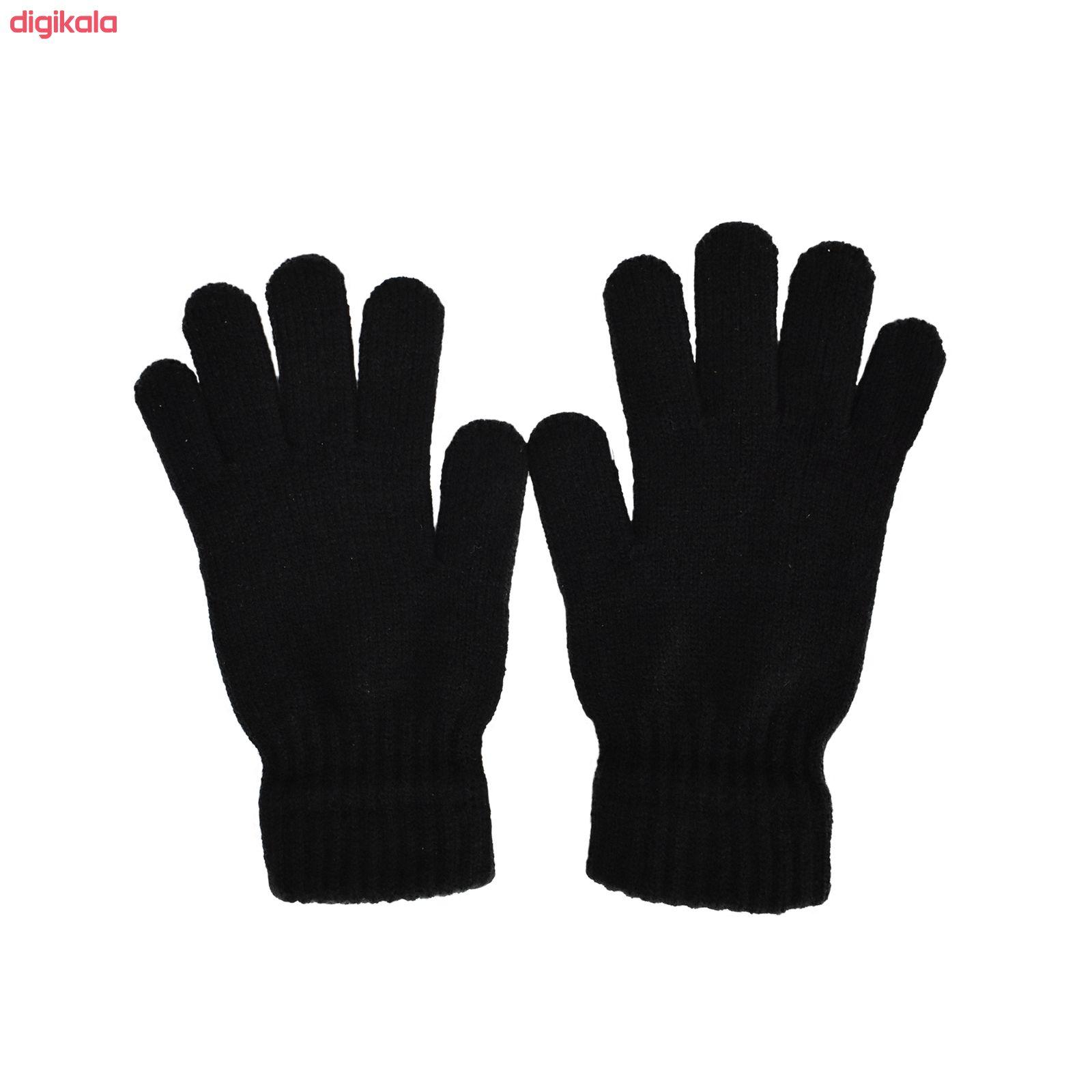 دستکش بافتنی تولیدی منوچهری کد uit56 main 1 2