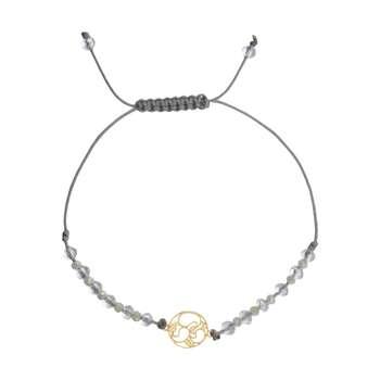 دستبند طلا 18 عیار زنانه آلند کد TD113