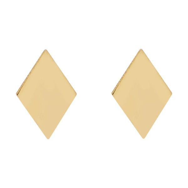 گوشواره طلا 18 عیار زنانه کانیار گالری کد GOA102
