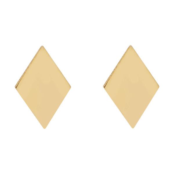 گوشواره طلا 18 عیار زنانه کانیار گالری کد GOA102 -  - 2