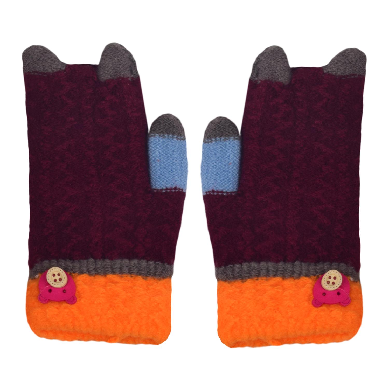 دستکش بافتنی بچگانه مدل ND2-10