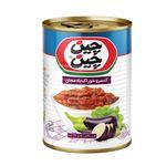 کنسرو خوراک بادمجان چین چین مقدار 380 گرم