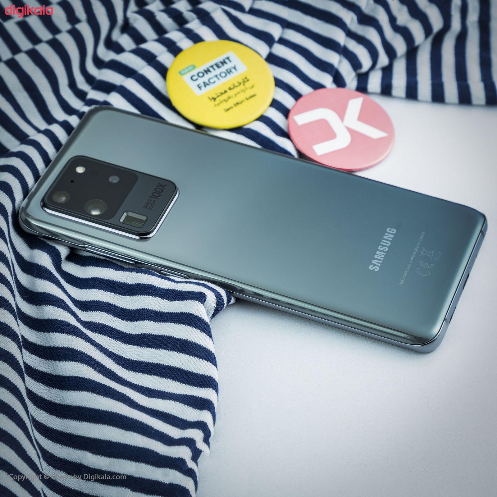 گوشی موبایل سامسونگ مدل  Galaxy S20 Ultra SM-G988B/DS دو سیم کارت ظرفیت 128 گیگابایت  main 1 23