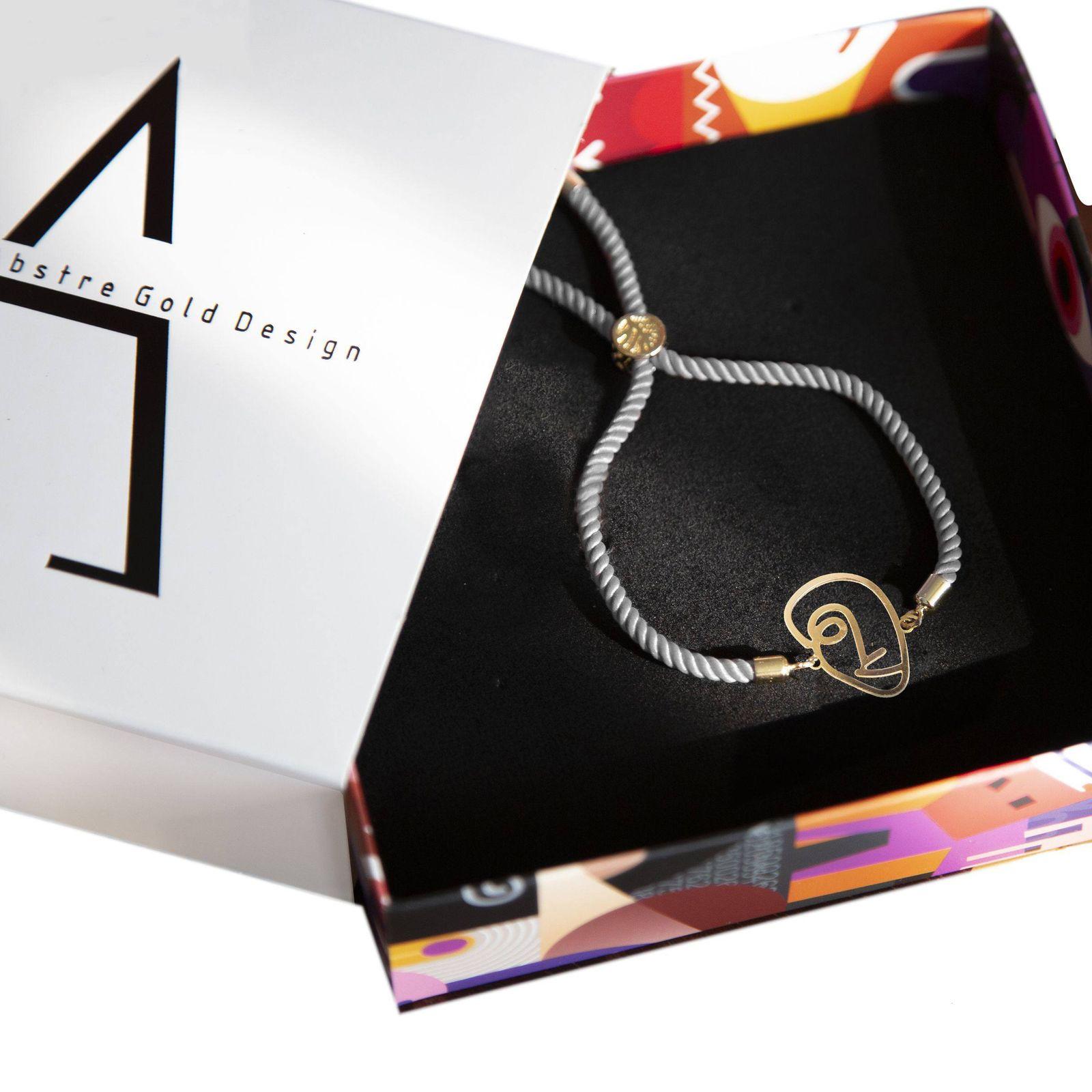 دستبند نقره زنانه آبستره مدل DSH-01 -  - 4