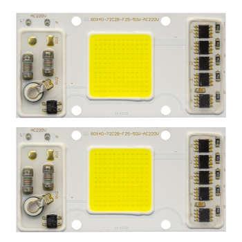 چیپ پرژکتور 50 وات مدل IC-72C2B بسته 2 عددی
