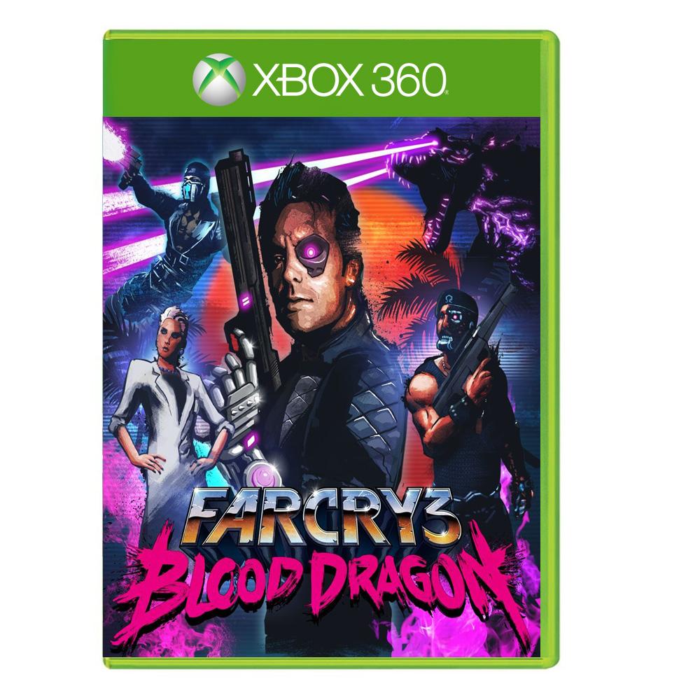 بررسی و {خرید با تخفیف}                                     بازی FARCRY 3 BLOOD DRAGON مخصوص XBOX 360                             اصل