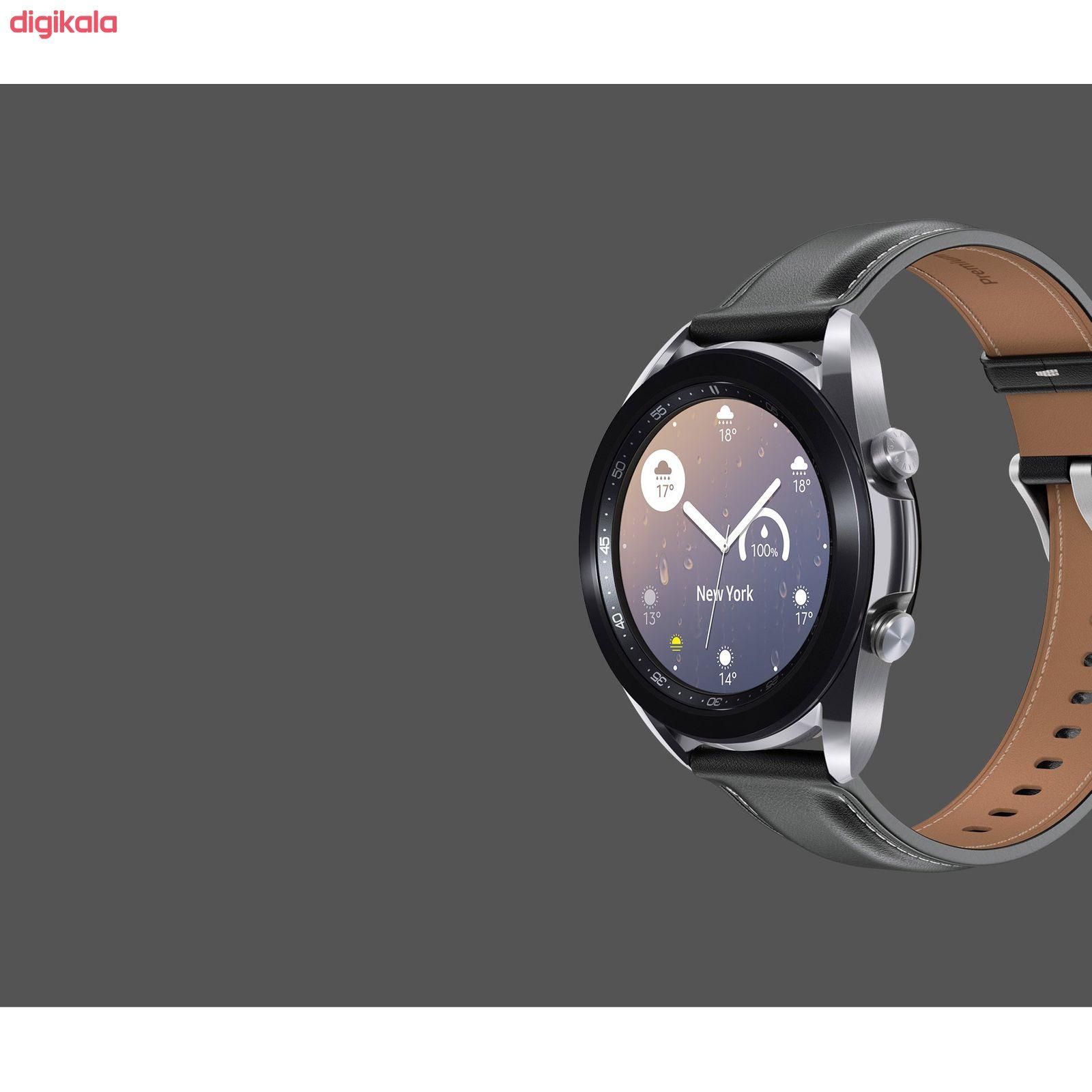 ساعت هوشمند سامسونگ مدل Galaxy Watch3 SM-R850 41mm main 1 2