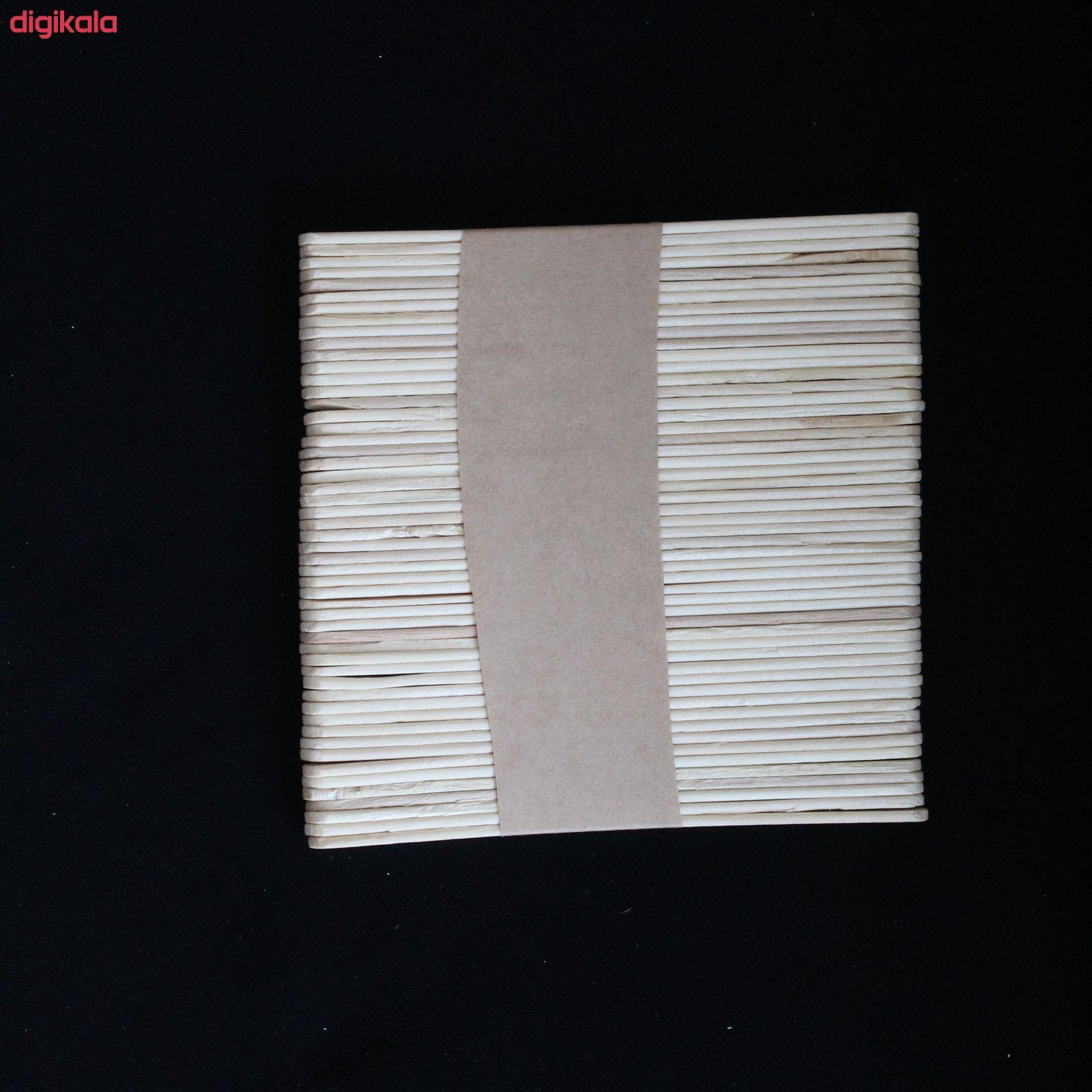 چوب بستنی مدل A1102 بسته 50 عددی main 1 1