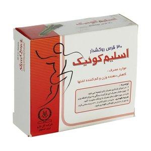 قرص اسلیم کوئیک گل دارو بسته 30 عددی