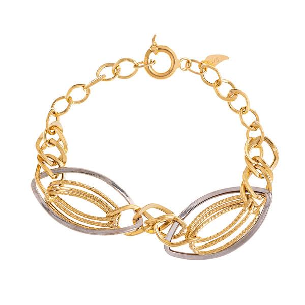 دستبند طلا 18 عیار زنانه گالری یار طلا کد DS04