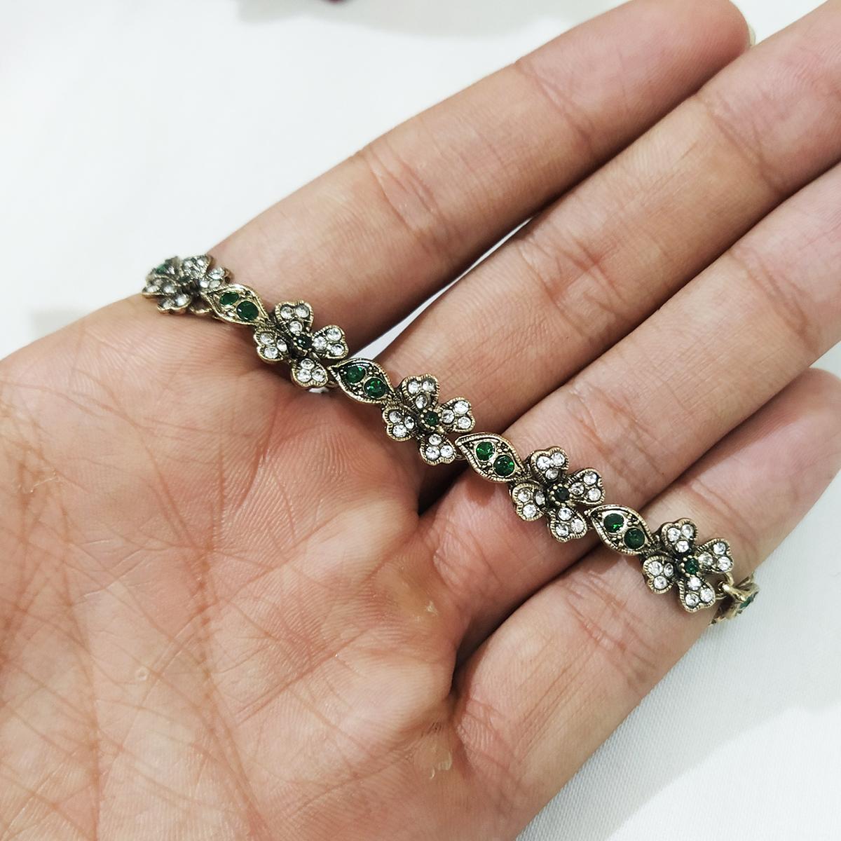 دستبند زنانه سلین کالا مدل زبرجد کد ce-As21