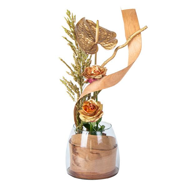 گلدان گل مدل ستاره