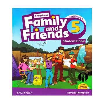 کتاب Family and Friends 5 اثر Tamzin Thompson انتشارات الوندپویان