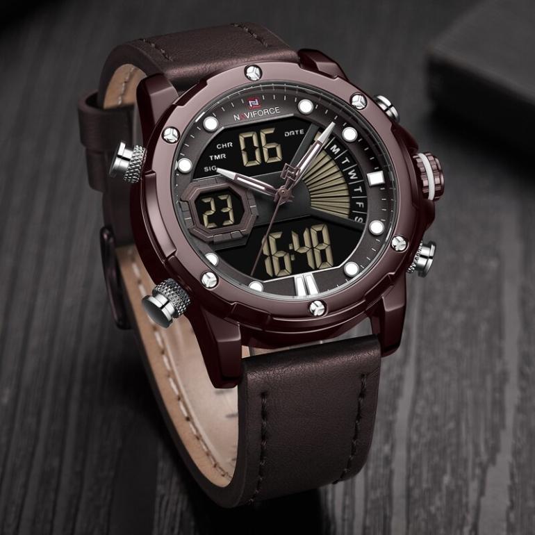 ساعت مچی دیجیتال مردانه نیوی فورس مدل NF9172 - GH