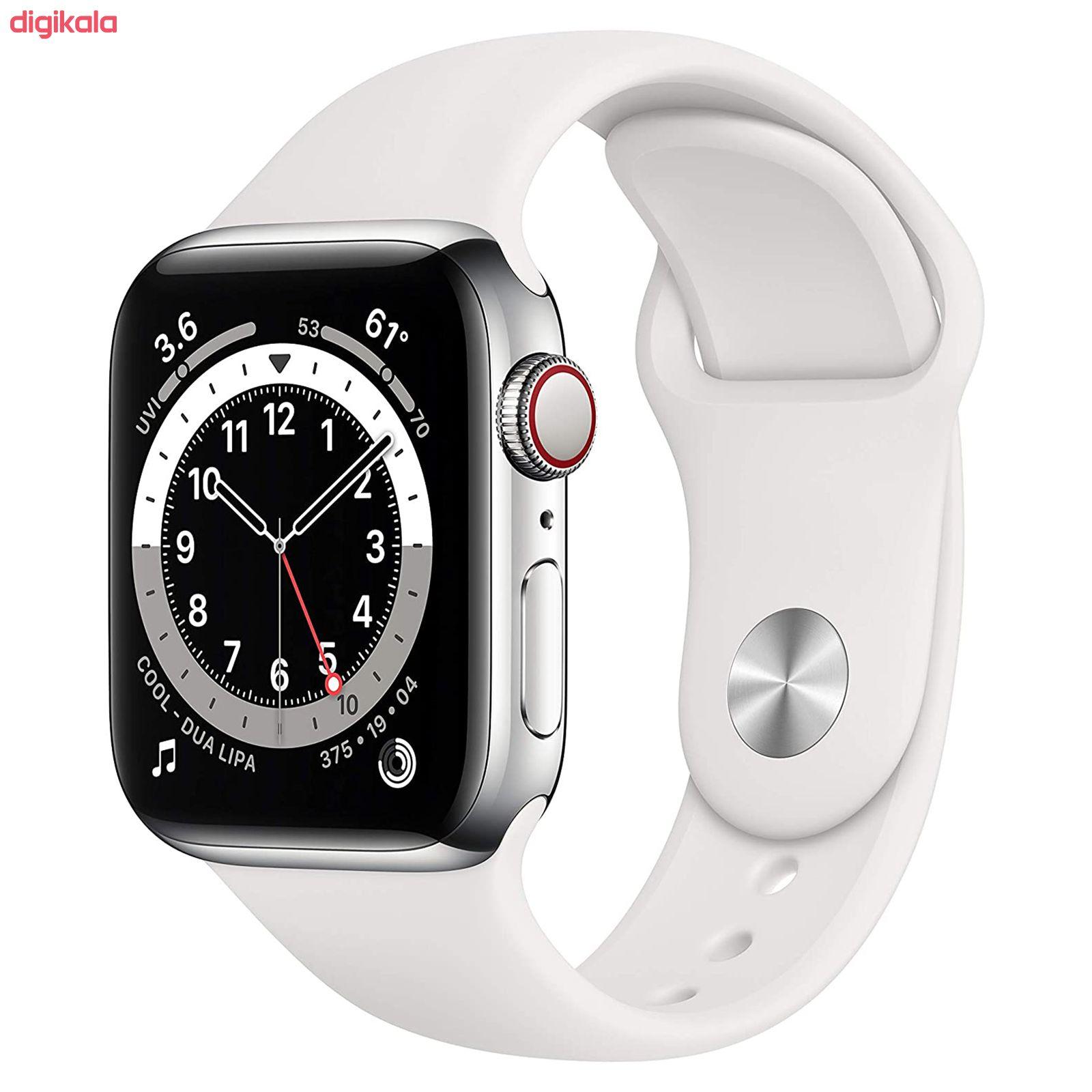 ساعت هوشمند اپل سری 6 مدل Aluminum Case 40mm main 1 8