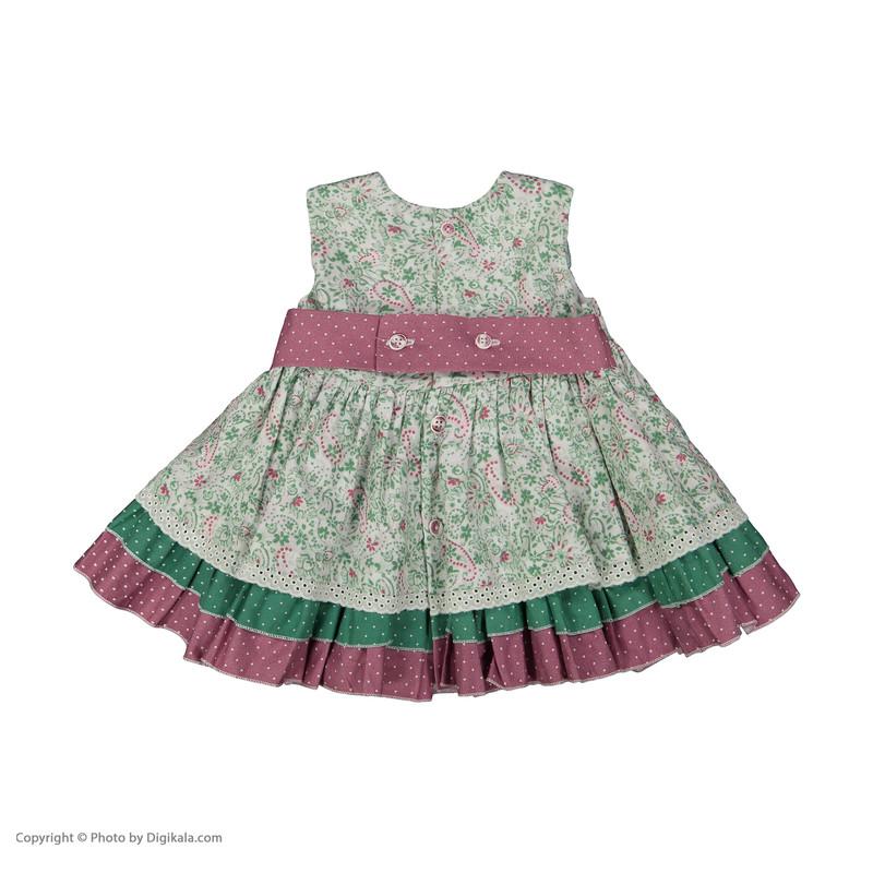 پیراهن نوزادی دخترانه فیورلا کد 2071