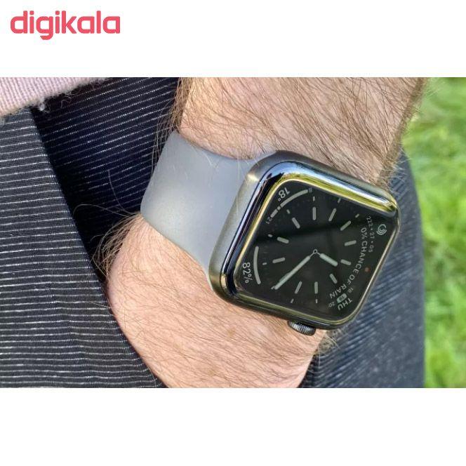 ساعت هوشمند اپل واچ سری 5 مدل 44m Space  Aluminum Case  Sport Band main 1 25
