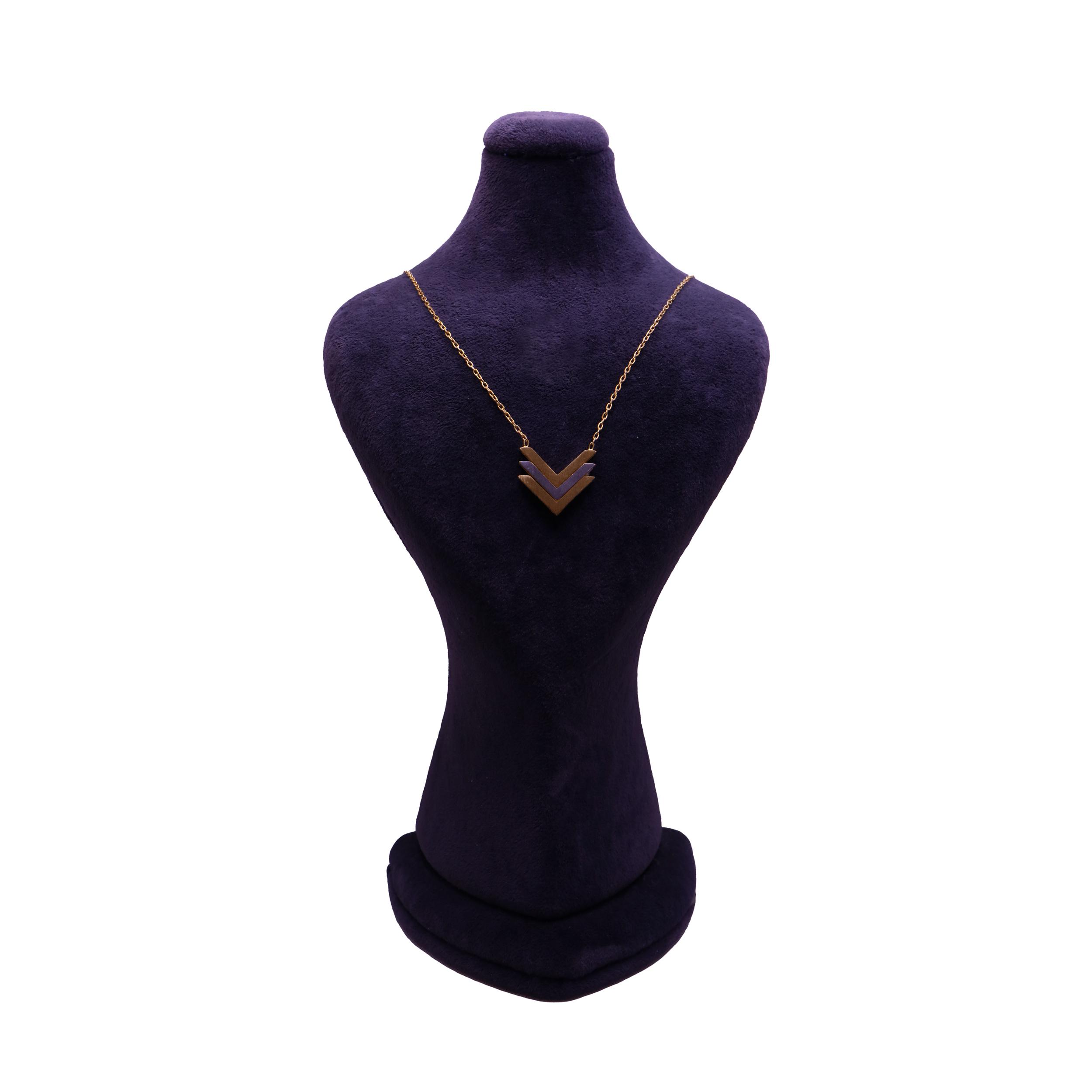 گردنبند طلا 18 عیار زنانه آلند کد KAA9