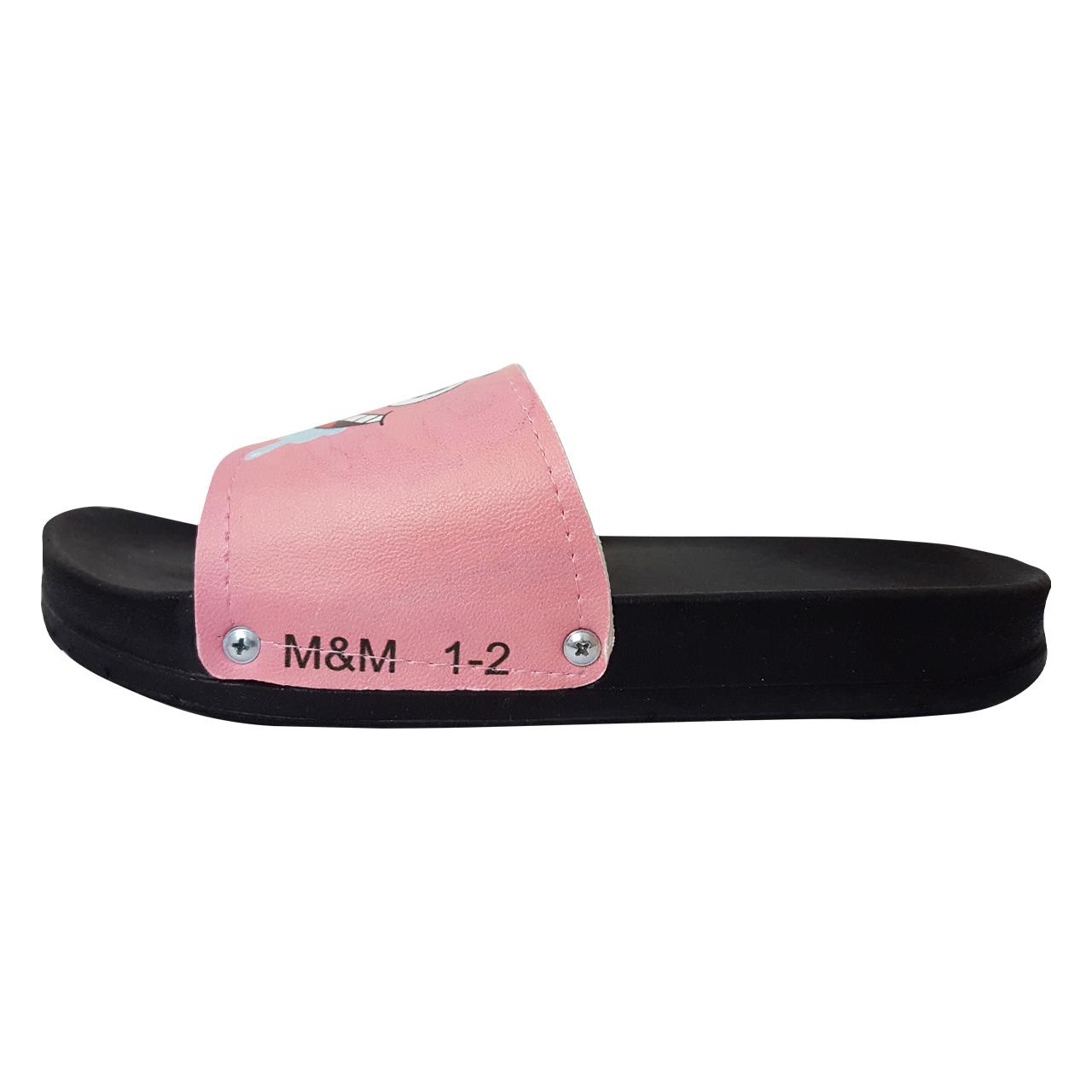 دمپایی  دخترانه  مدل M&M  کد B200