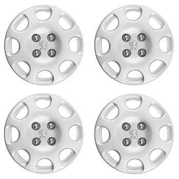 قالپاق چرخ مدل 1-kpn206 سایز 14 اینچ مناسب برای پژو 206 SD بسته 4عددی