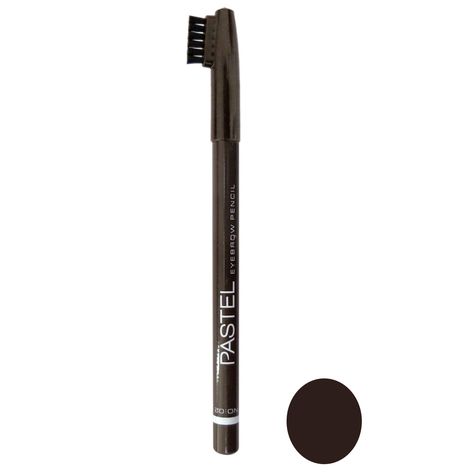 مداد ابرو پاستل شماره 02