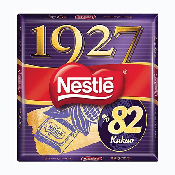 شکلات تخته ای تلخ %82 1927 نستله - 65 گرم