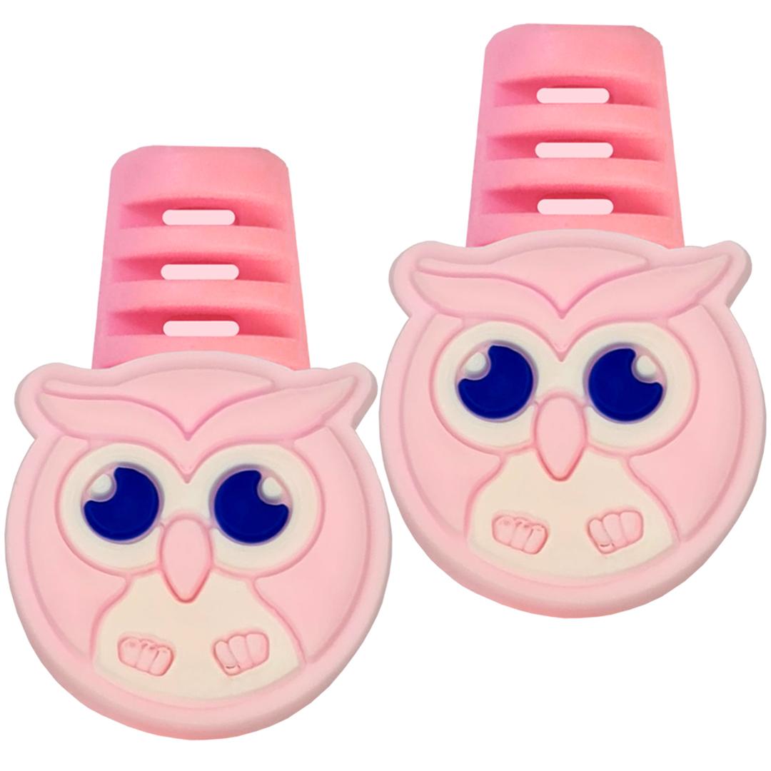 تصویر محافظ کابل مدل Cute Owl B02 بسته 2 عددی