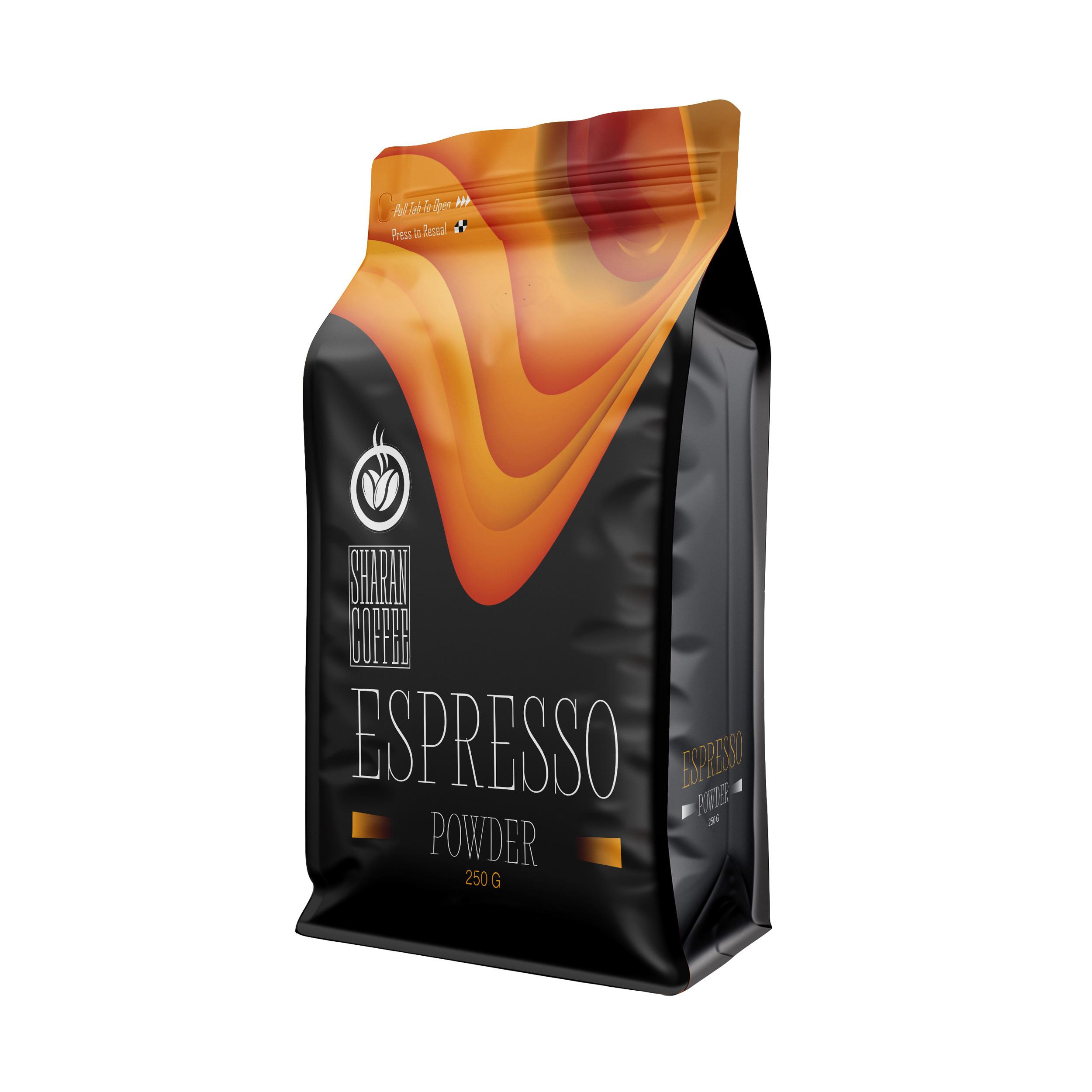 پودر قهوه اسپرسو ترکیبی بمب انرژی شاران - 250 گرم