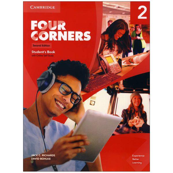 کتاب Four Corners 2 اثر Jack C.Richard and David Bohlke انتشارات زبان مهر