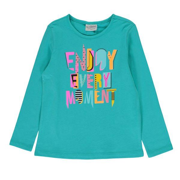 تی شرت دخترانه ال سی وایکیکی کد 0S5502Z4-GKF
