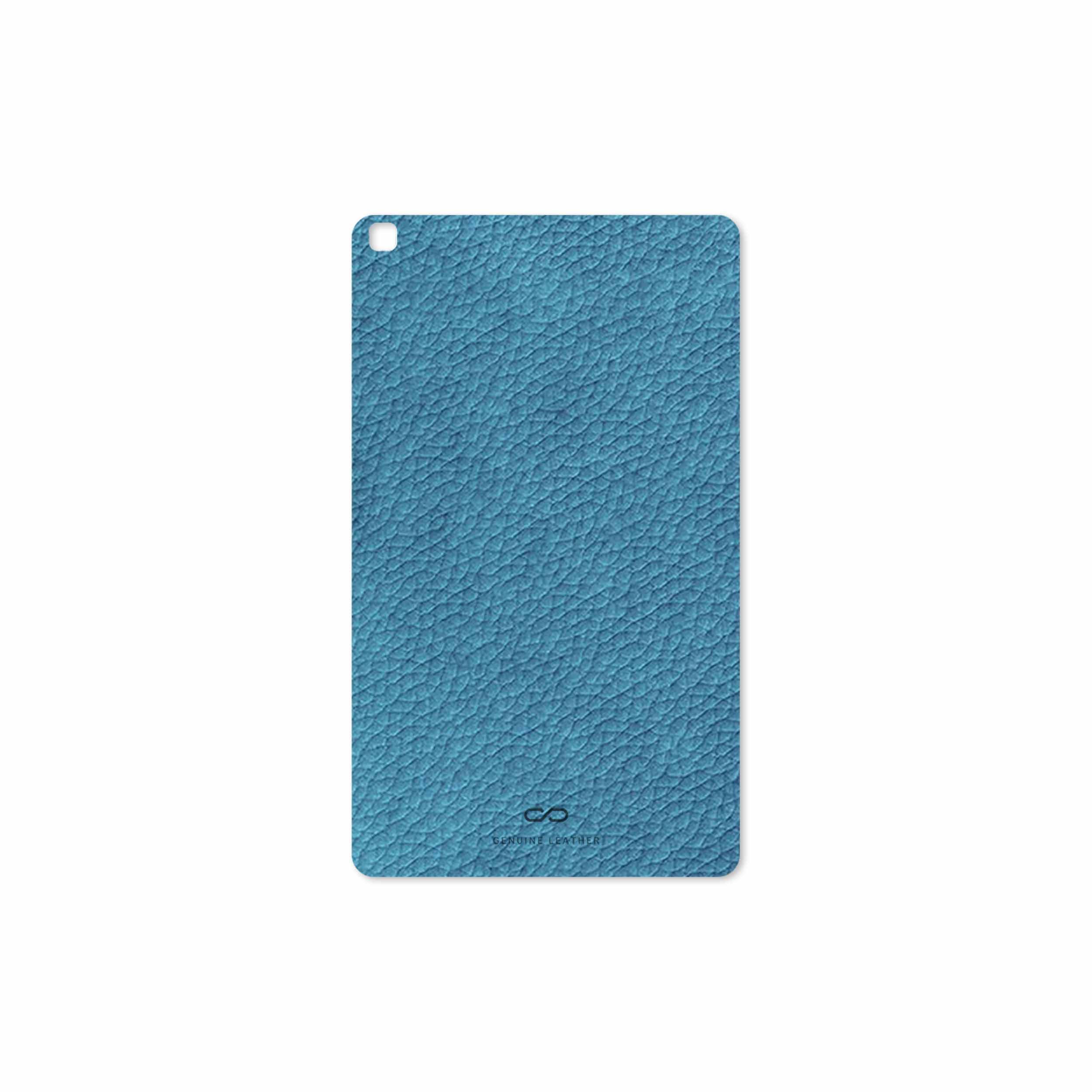 بررسی و خرید [با تخفیف]                                     برچسب پوششی ماهوت مدل Blue-Leather مناسب برای تبلت سامسونگ Galaxy Tab A 8.0 2019 T290                             اورجینال