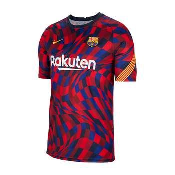 تیشرت ورزشی مردانه طرح بارسلونا کد training2021