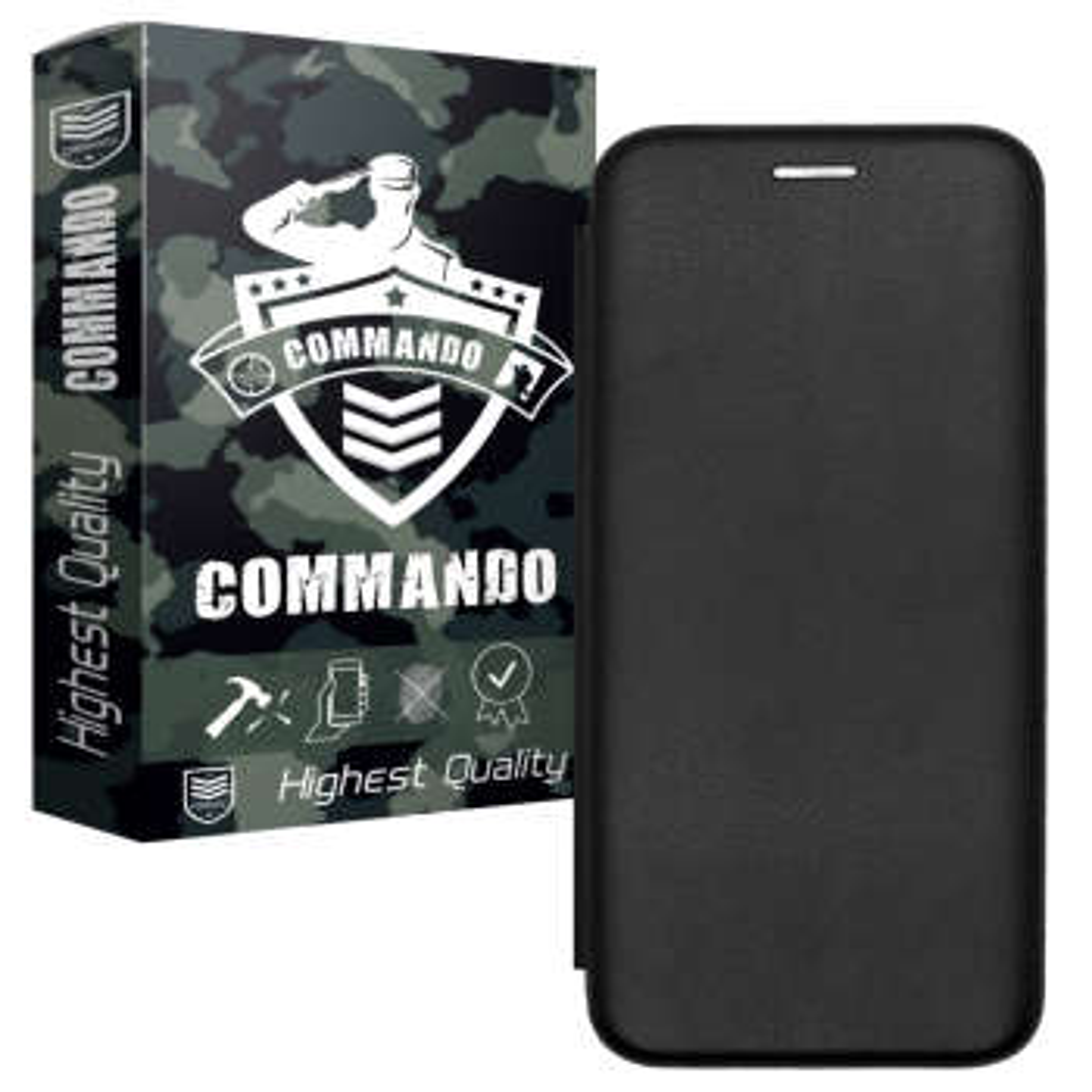 کیف کلاسوری کماندو مدل KF0021 مناسب برای گوشی موبایل نوکیا 3.2