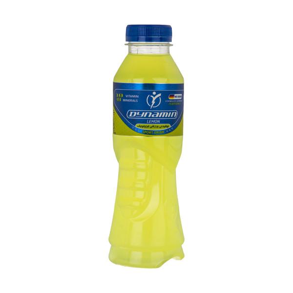 نوشابه ویتامینه ورزشی ایزوتونیک داینامین با طعم لیمو - 500 میلی لیتر