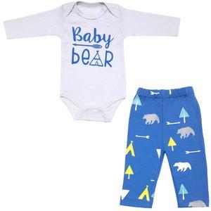 ست بادی و شلوار نوزادی مدل baby bear کد 3313