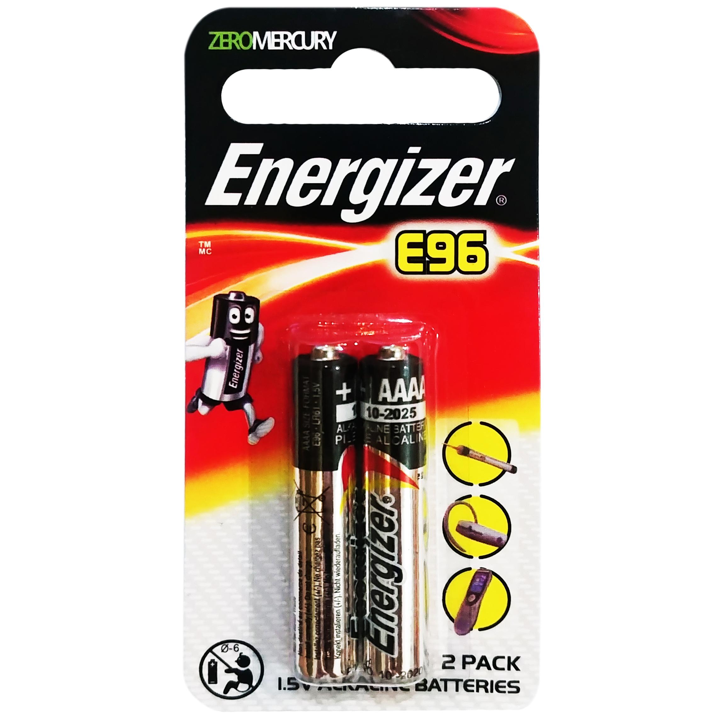 باتری قلمی انرجایزر مدل E96-LR8 بسته 2 عددی