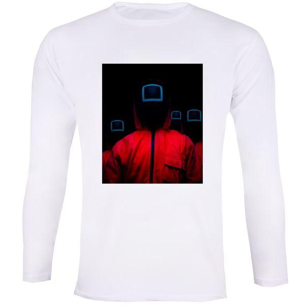 تی شرت آستین بلند زنانه مدل بازی مرکب 020