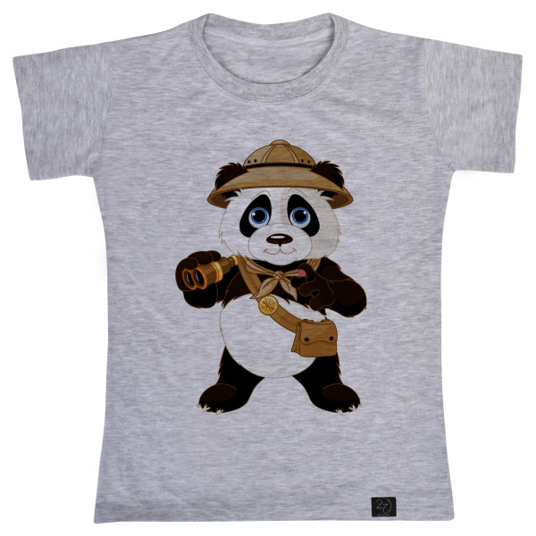 تی شرت پسرانه 27 طرح پاندا کد V16