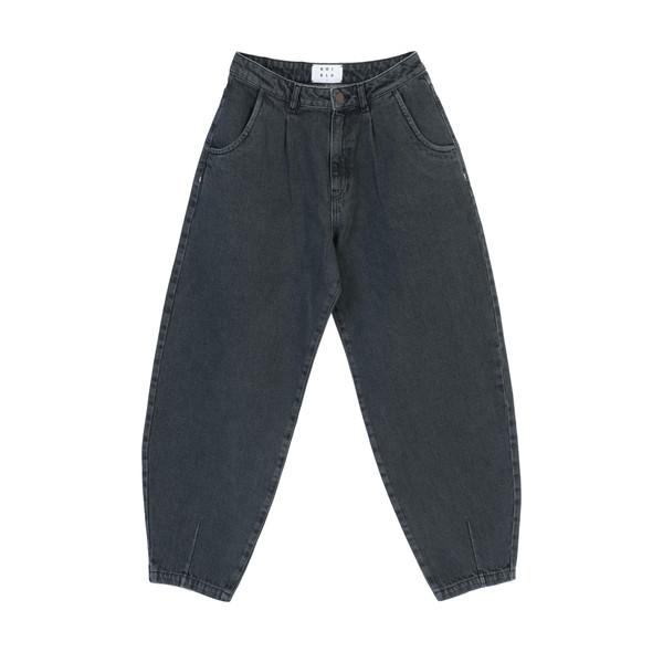 شلوار جین مردانه کوی مدل 229 خمره ای رنگ خاکستری تیره