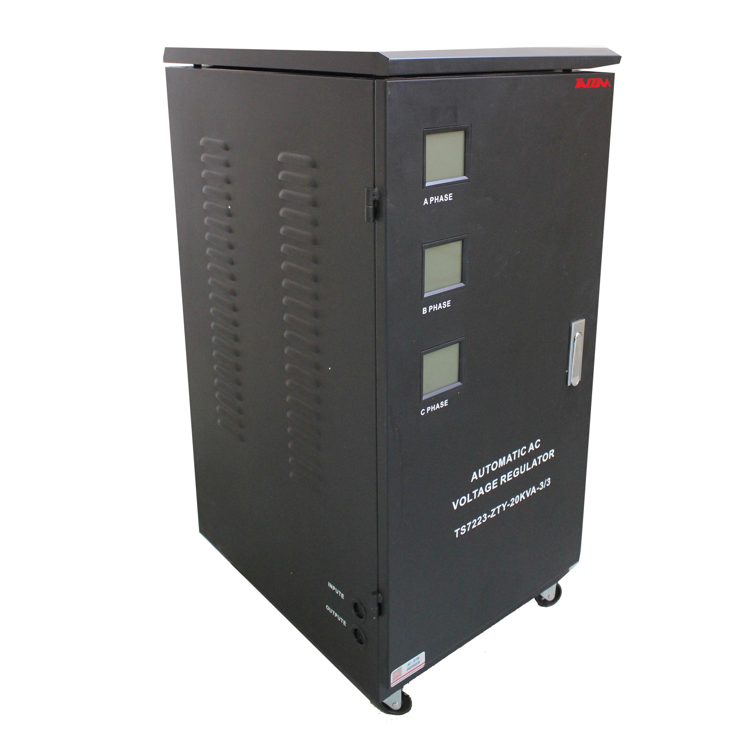 استابلایزر تکام مدل ZAGROS-20KVA 3/3 ظرفیت 20000 ولت آمپر