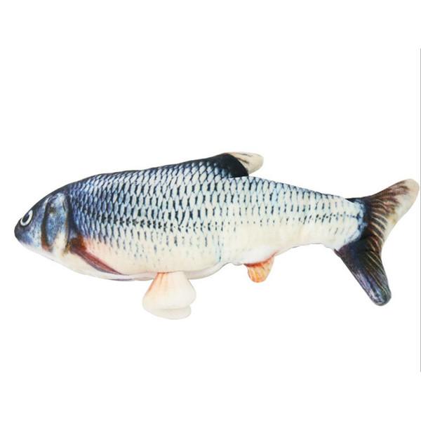 اسباب بازی گربه مدل ماهی رقصان قابل شارژ دارای کابل یو اس بی