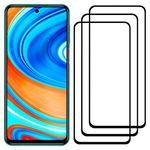 محافظ صفحه نمایش مدل FCG مناسب برای گوشی موبایل شیائومی Redmi Note 9 Pro بسته سه عددی thumb